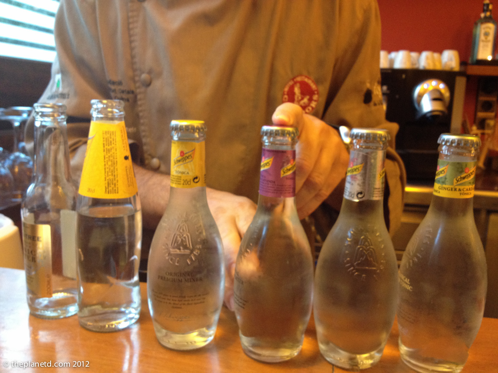 case of tonic water