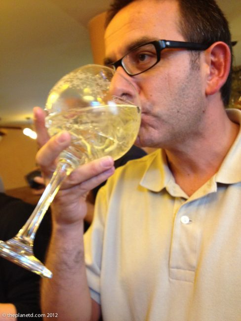 tasting gin and tonic in spain