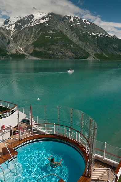 glacier bay cruise pool