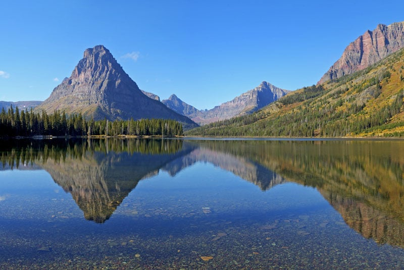 glacier national park hikes Two Medicine Area