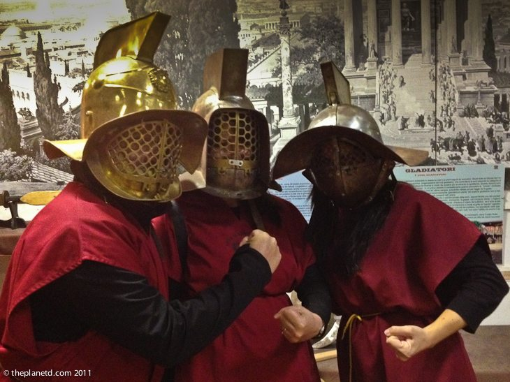group gladiator school