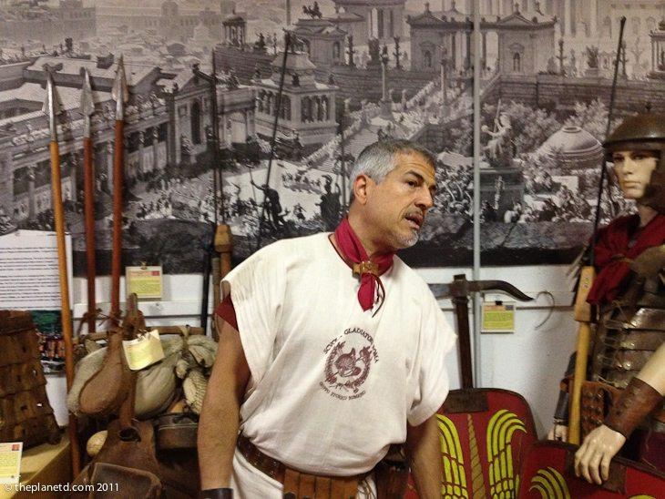 gladiator school rome teacher