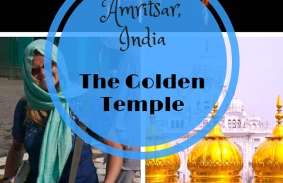 The Golden Temple of Amritsar in Punjab India