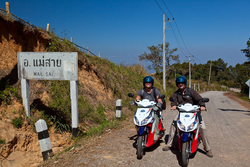 golden triangle thailand bike