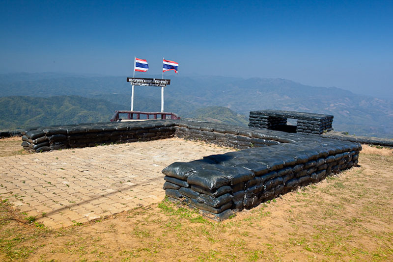 golden triangle thailand fort