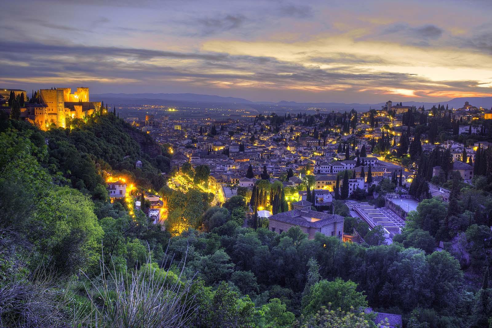 granada ciudades españolas