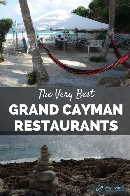 the very best restaurants on Grand Cayman