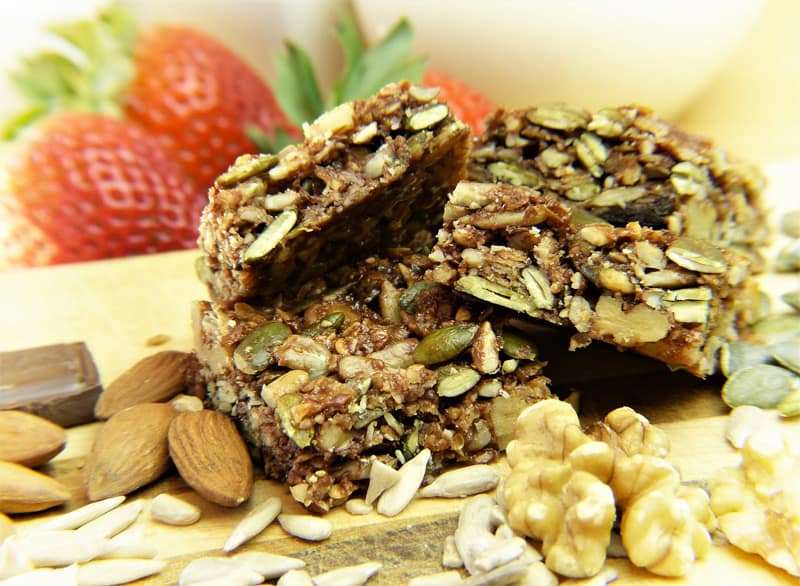 granola bars and on the go snacks