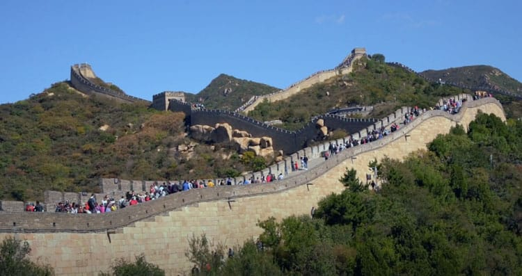 best view of the Badaling Great Wall