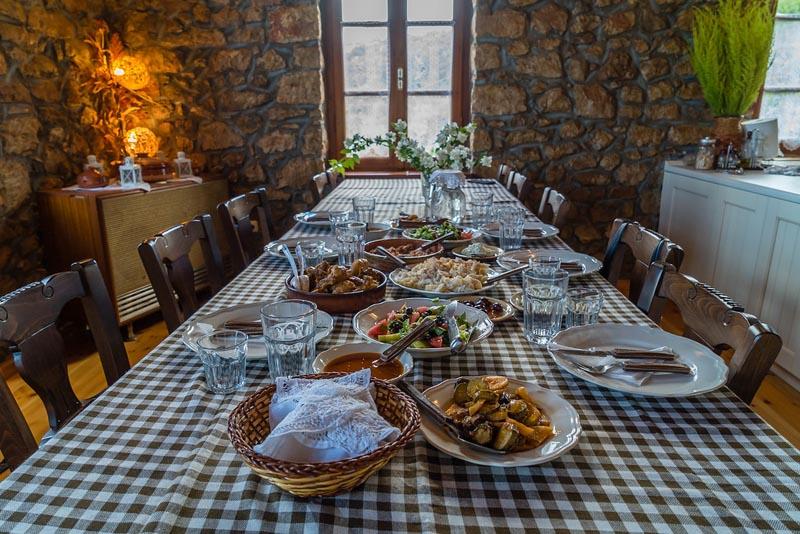 costa navarino cooking class greek food
