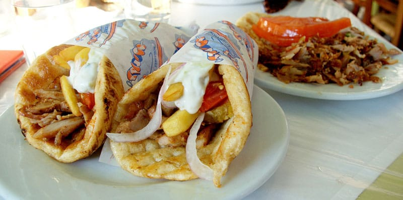 greek food guide gyros