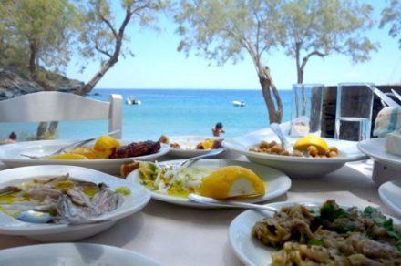 greek food guide outdoors