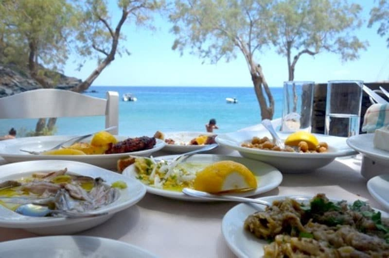 greek food guide outdoors
