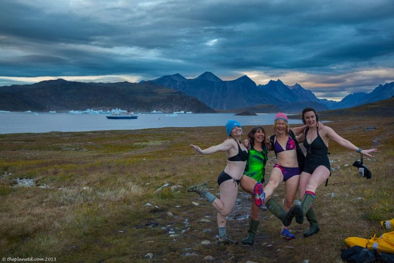 greenland hot springs outside