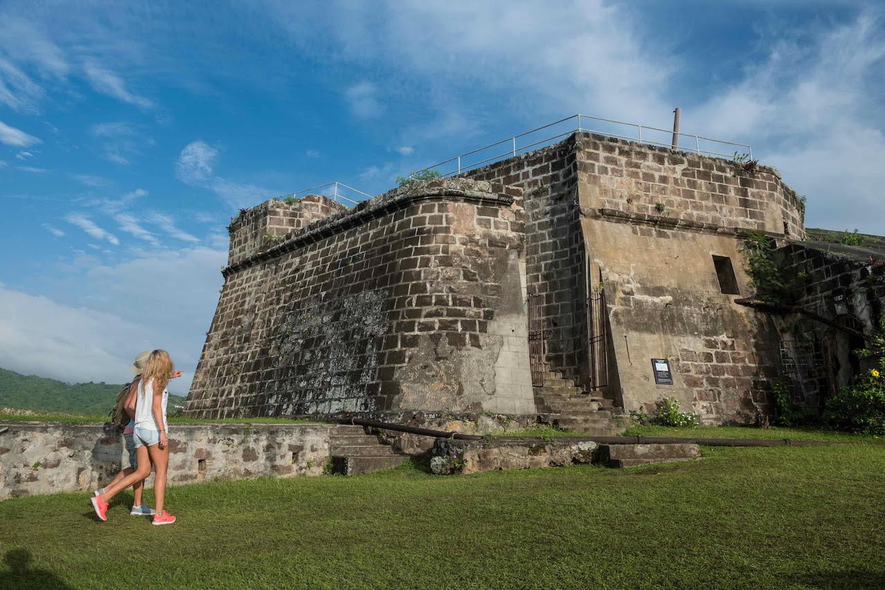things to do in grenada fort frederick