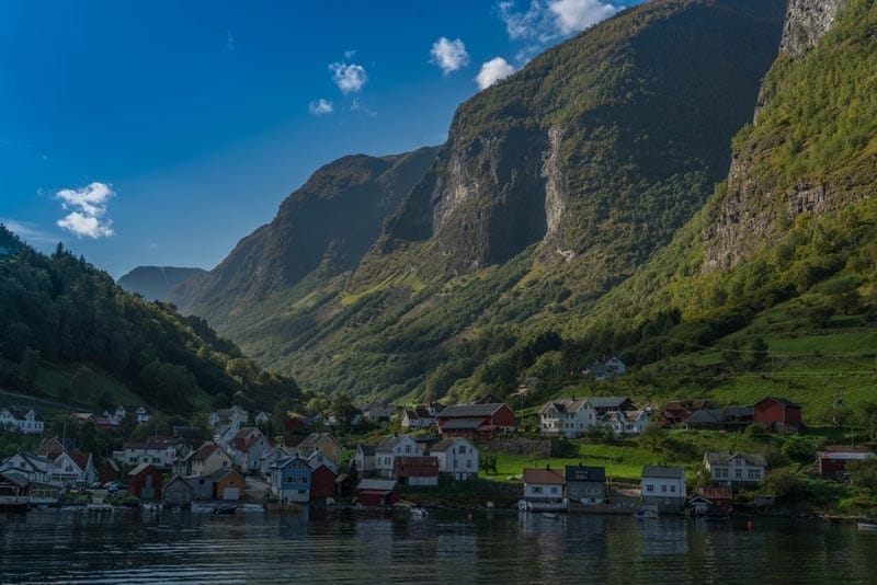 town on a Norway Fjord