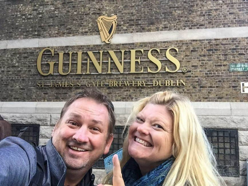 guinness storehouse dublin tour dave deb