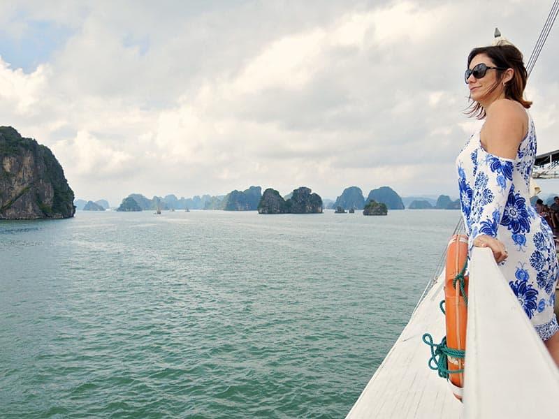ha long bay vietnam first views