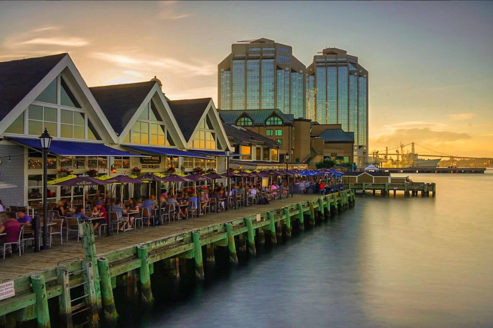 things to do in halfiax waterfront at sunset