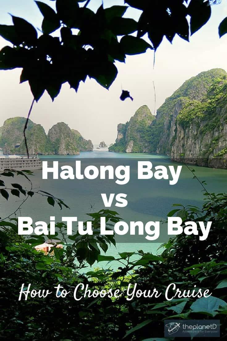 halong bay vs bai tu long bay how do you choose?