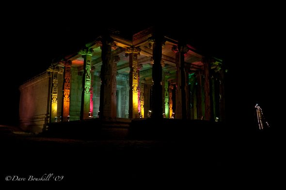 hampi-ruins-lit-up-for-festival