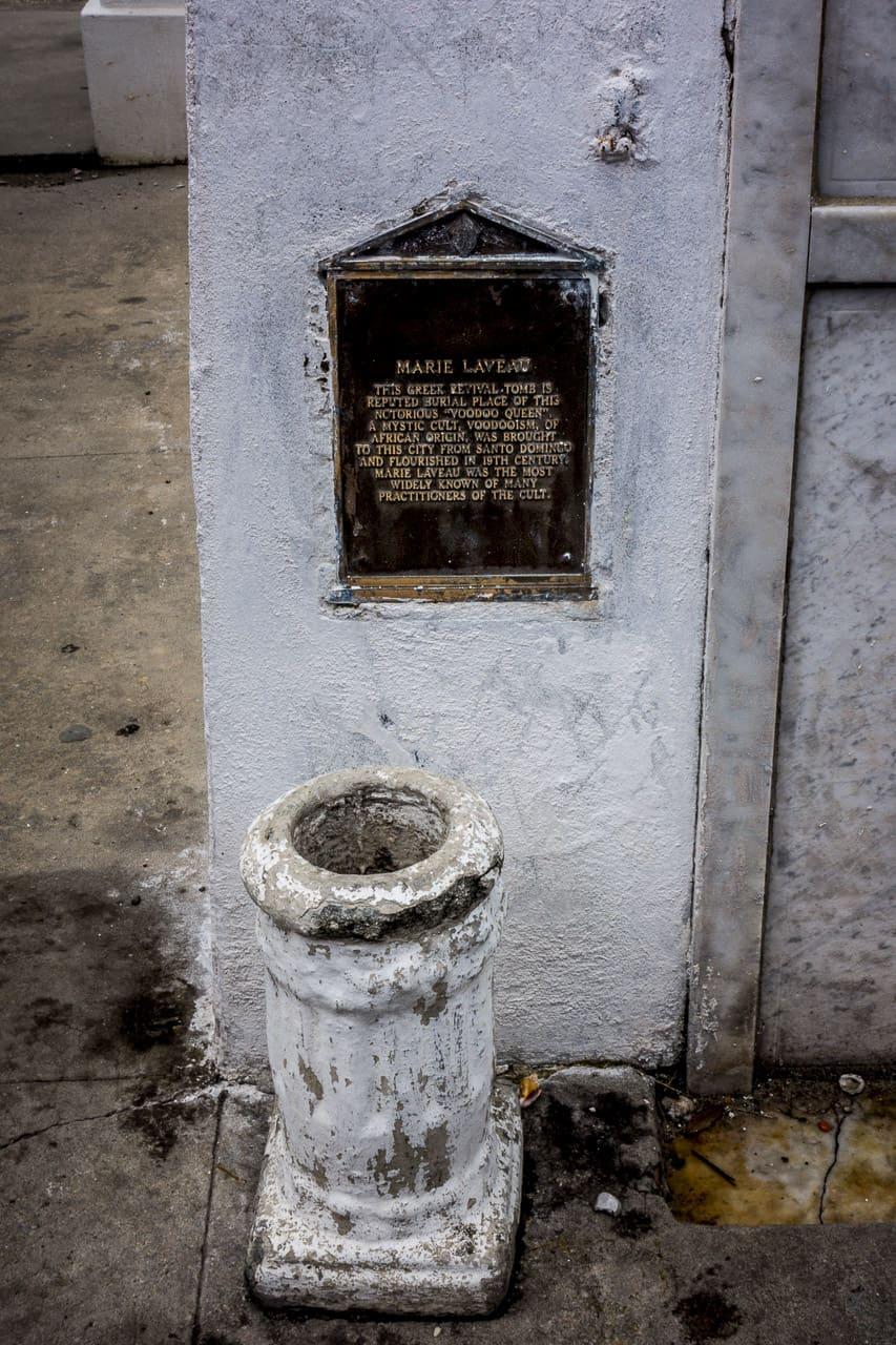 Marie Laveau's Grave site