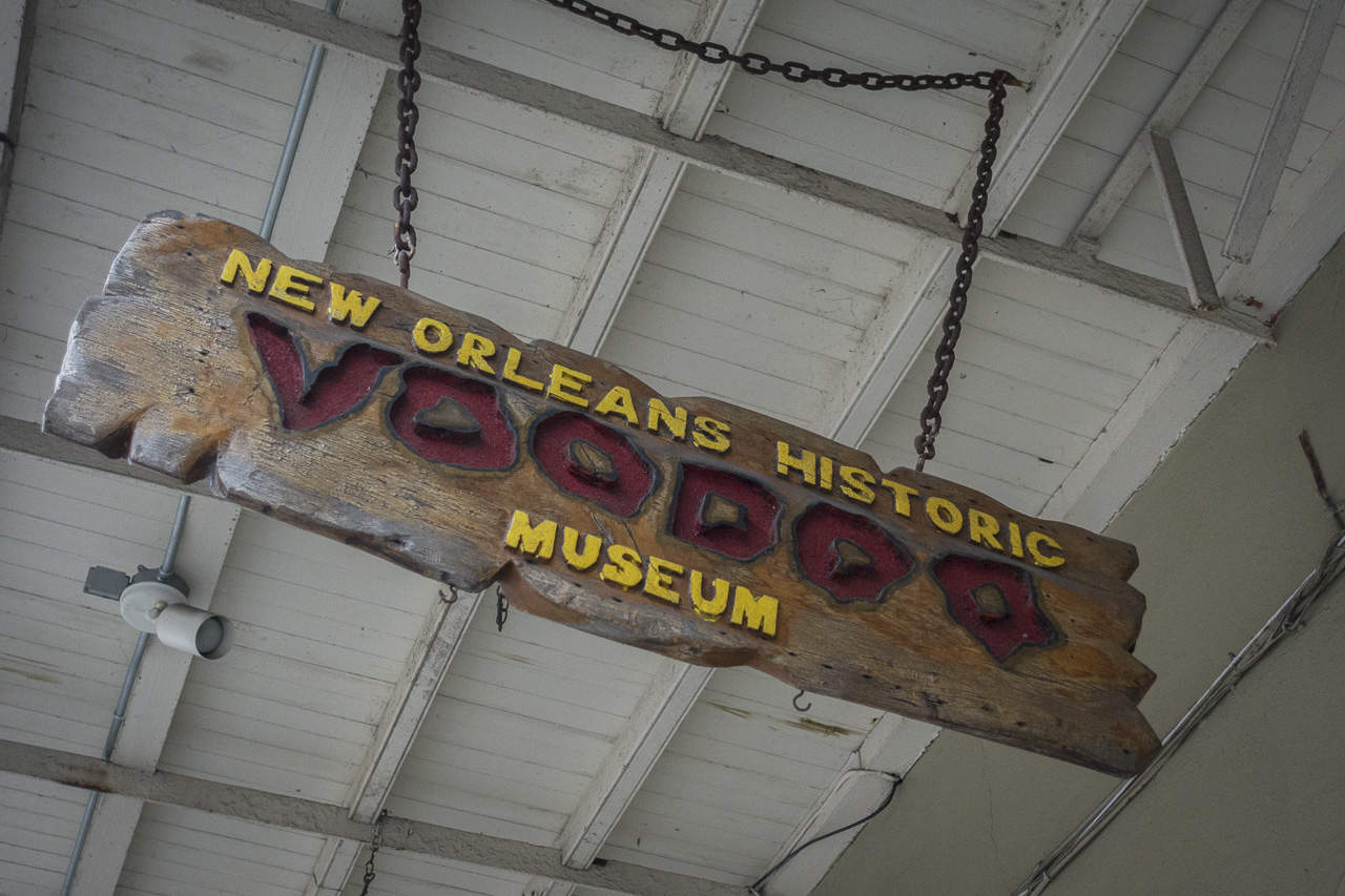 Haunted New Orleans: Voodoo Museum