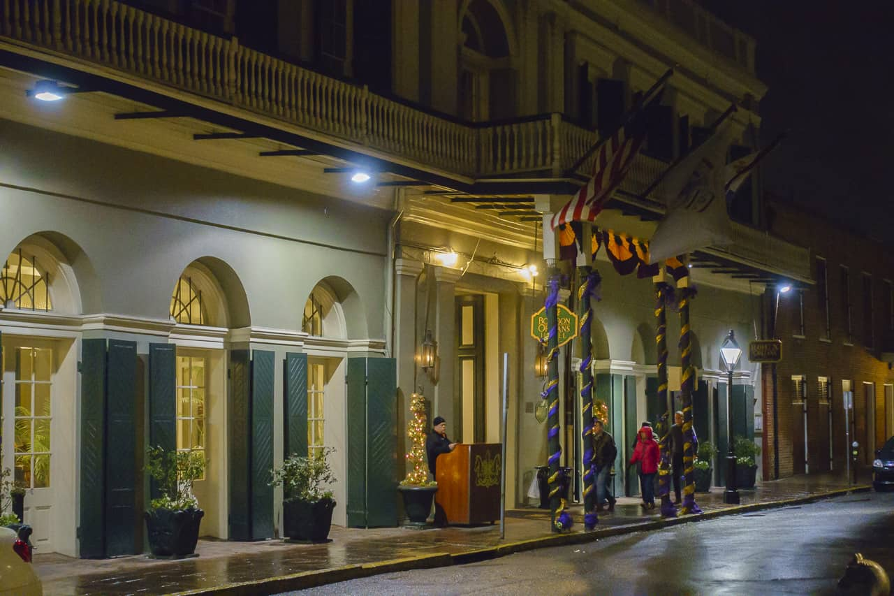 haunted new orleans hotel
