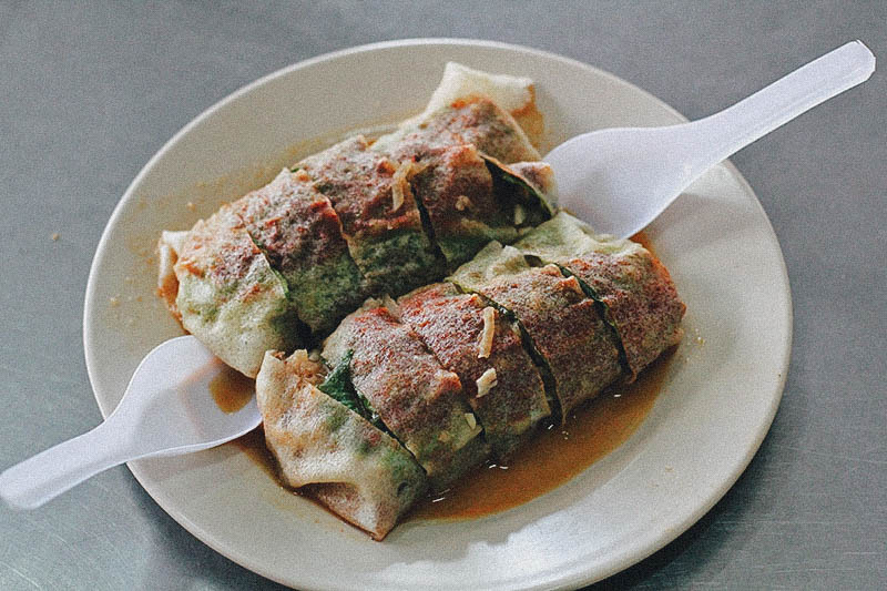 hawker stalls Penang Seafood Popiah