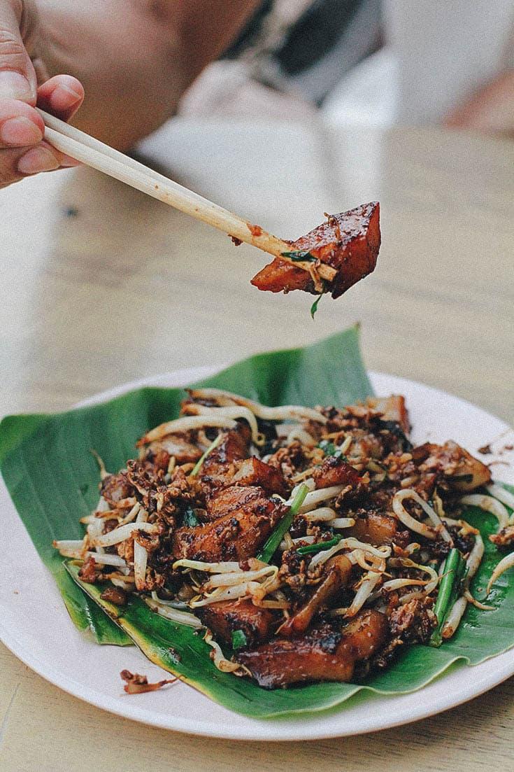 hawker stalls Penang Sister Yao's Char Koay Kak