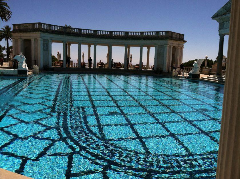 hearst castle swimming pool