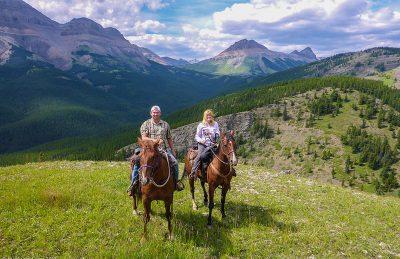 high mountain trail ride deb dave