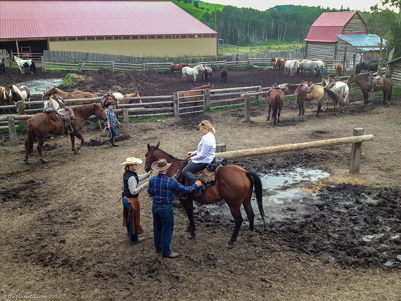 high mountain trail ride ranch