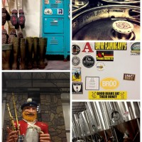 collage of highland brewery in asheville north carolina
