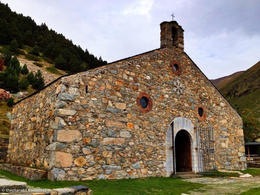 church at Vall de Nuria