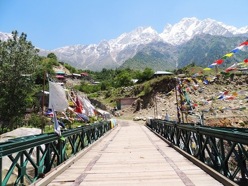 Delhi hill stations - village of Sangla