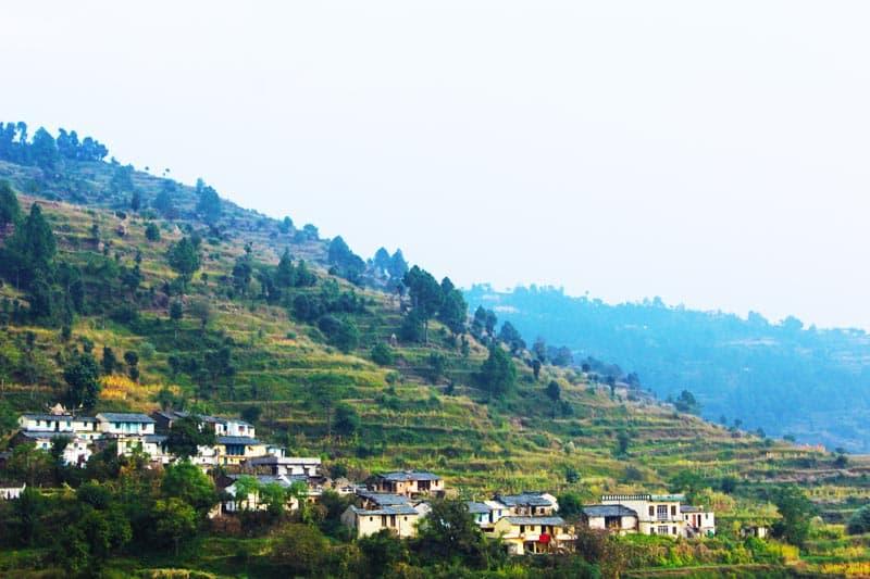 hill stations near Delhi - Kanatal
