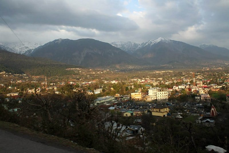 himachal pradesh - town of Dharamshala India