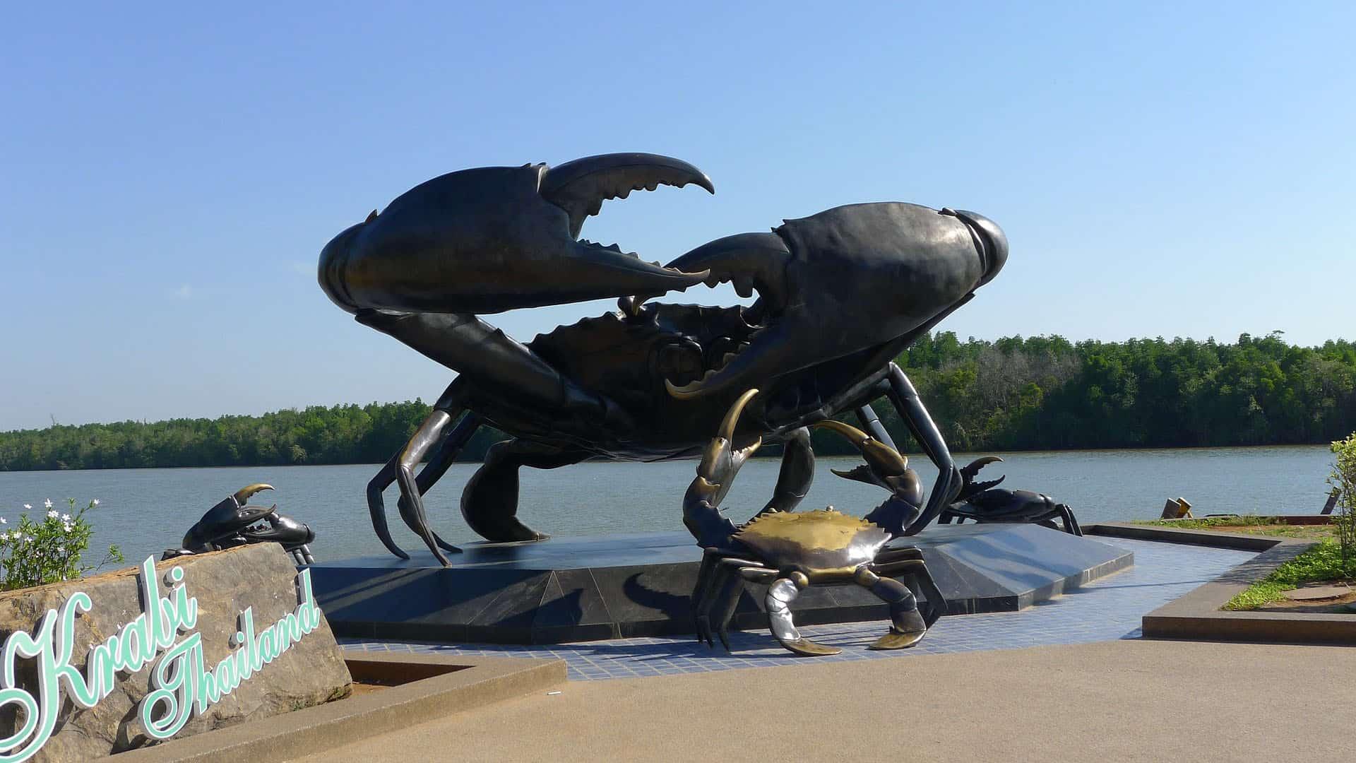 Krabi town mascot crab - pix