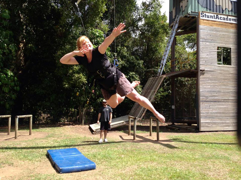 hollywood stunt training australia deb