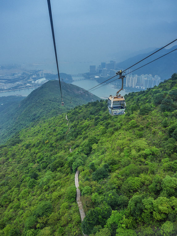 hong kong day trip cable car