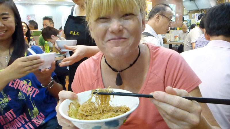 trip to hong kong noodle soup