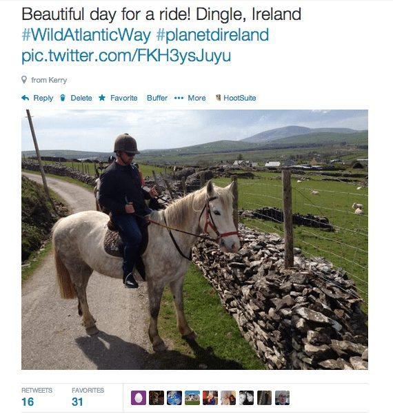 horse back riding Ireland