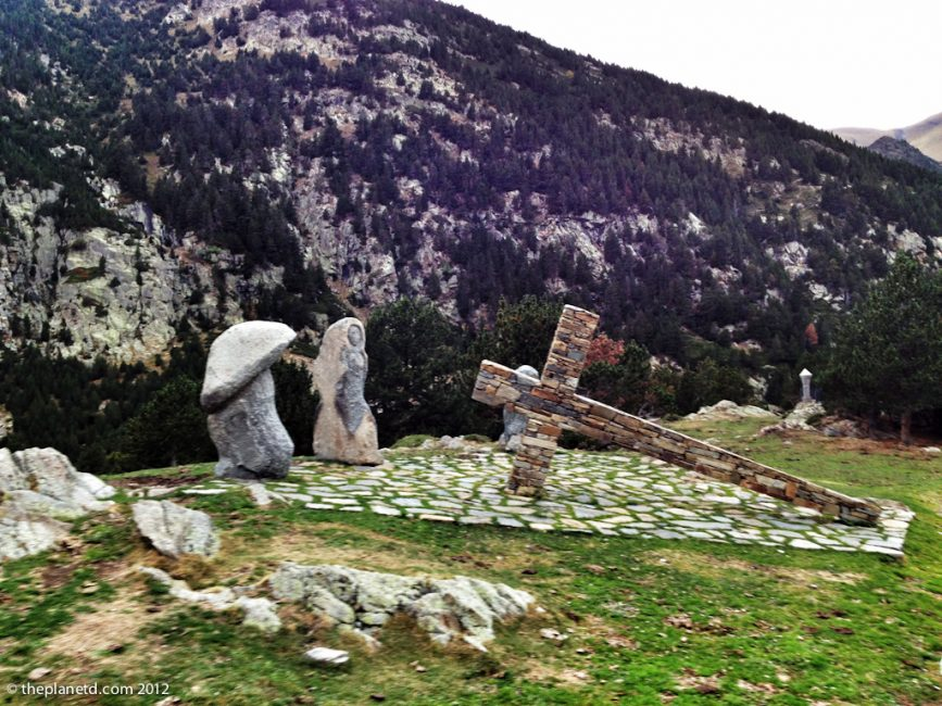 travel photos of pilgrimage site in Spain
