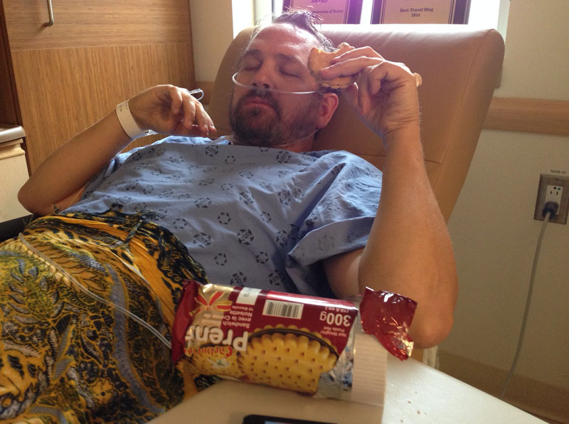 hospital hassles eating