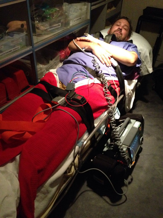 hospital hassles stretcher