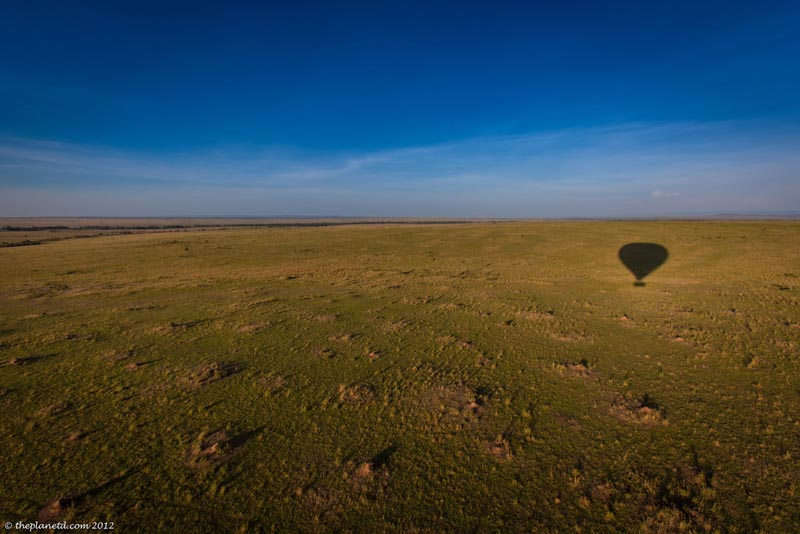 balloon ride africa