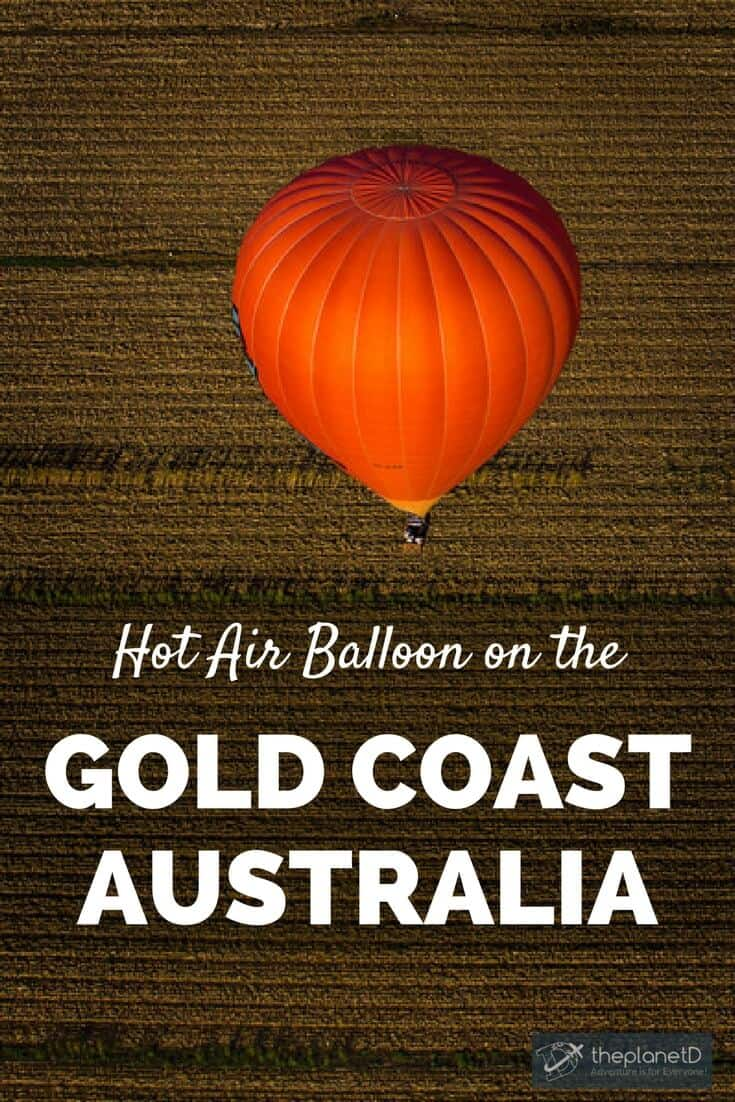 Hot air ballooning the Gold Coast in Australia was a wonderful experience. The landscapes were epic, and the sunrise view was worth the early wake up time.