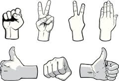 how not to look like a tourist attraction hand gestures