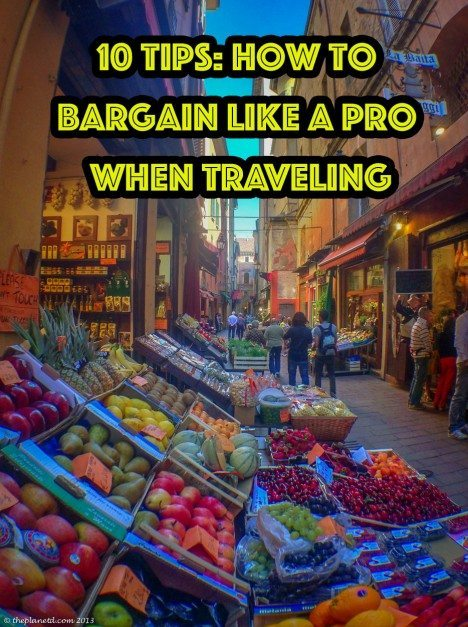 how to bargain like a pro